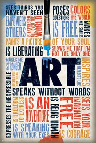 art-speaks-without-words-poster