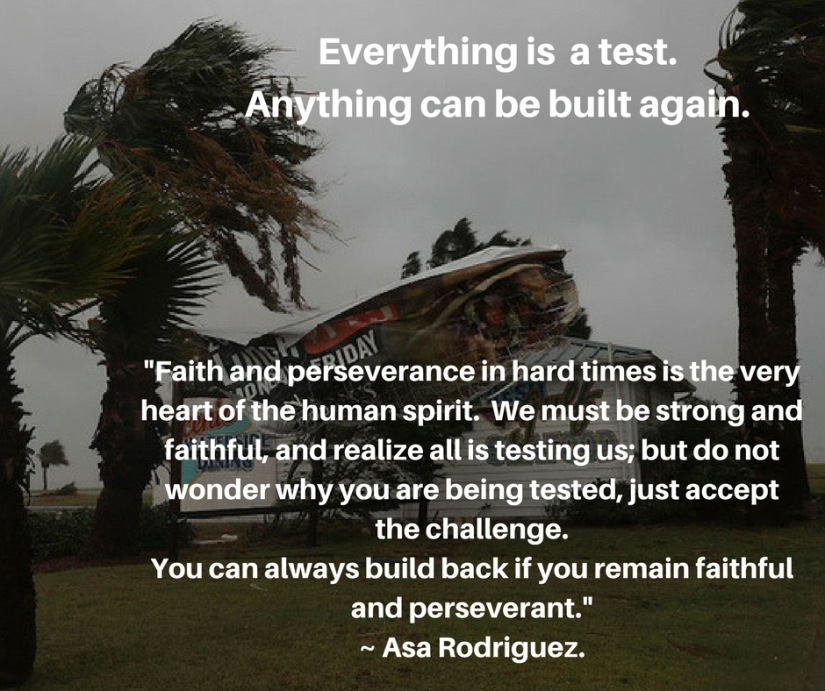 Everything is a test.Everything can be built.