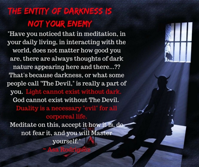 Darkness is not your enemy