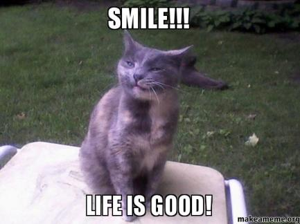 SMILE-LIFE-IS