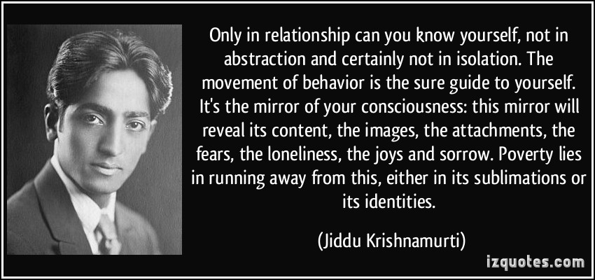 quote-only-in-relationship-can-you-know-yourself-not-in-abstraction-and-certainly-not-in-isolation-the-jiddu-krishnamurti-346129